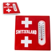 Magnet mit Thermometer