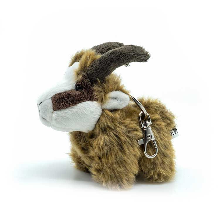 Animal Bonnet Peluche Bonnet Steinbock